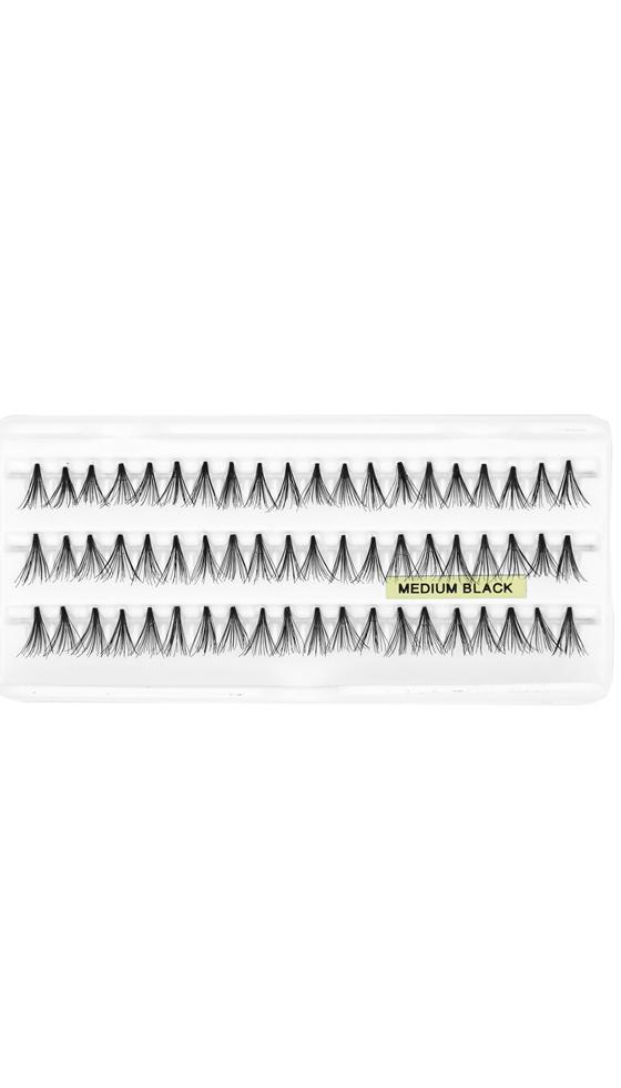 125 Kozel Extra Topuzsuz Gür Kirpik (Medium)