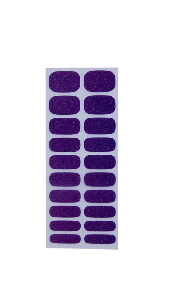 3006 Glitzy Purple Oje Tırnak Bandı